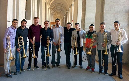 trombones+atocha+madrid