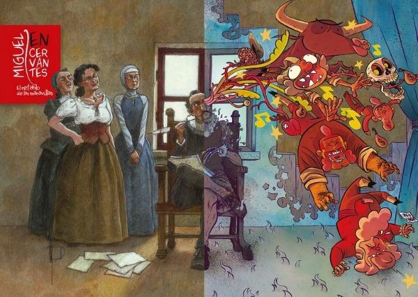 Miguel en Cervantes. El Retablo de las Maravillas. Exposición